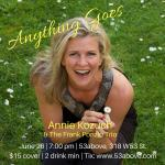 Anything Goes. Annie Kozuch and The Frank Ponzio Trio